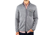 Criquet Sweater Fleece Jacket Heather Gray