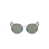 360 degree view of gradient retro circle sunglasses