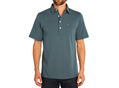 Criquet Top-Shelf Players Shirt Dark 'n Stormy