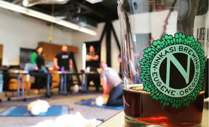 DRINK BEER SAVE LIVES | NINKASI BREWING COMPANY | ADVENTURE MEDICS | EUGENE, OR