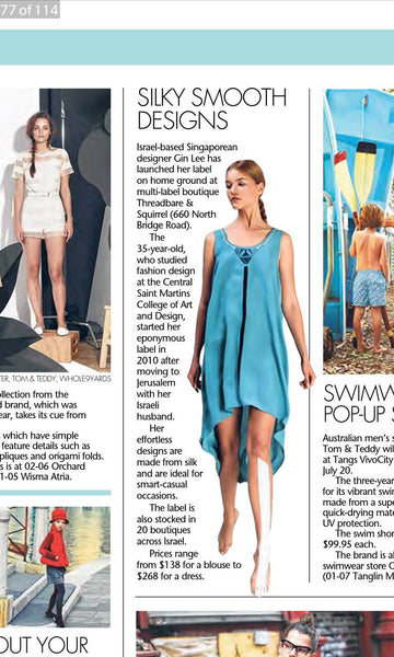 Silky Smooth Designs / The Straits Times
