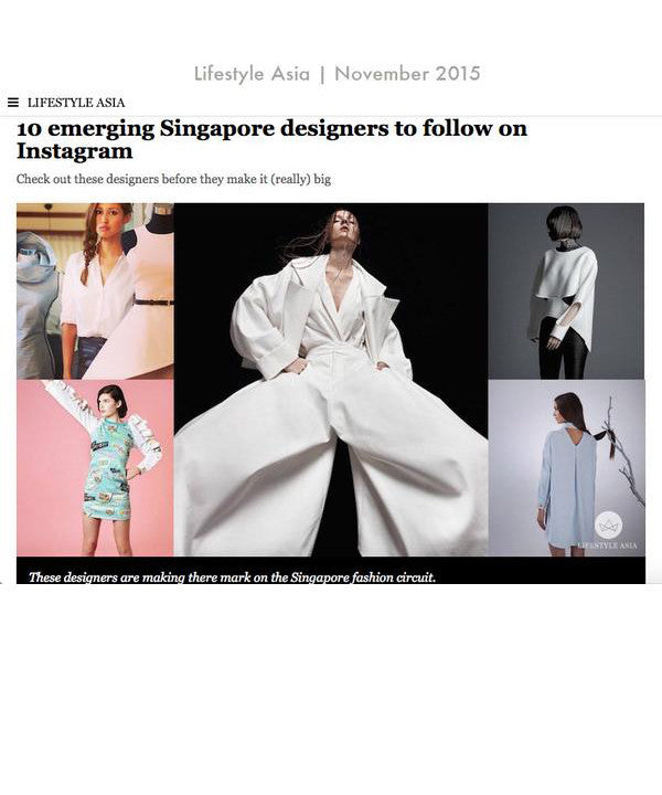7be6771a9 10 Emerging Singapore Designers to Follow on Instagram   Lifestyle Asia