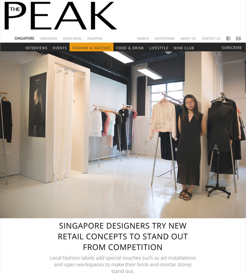 0fb988655 SINGAPORE DESIGNERS TRY NEW RETAIL CONCEPTS TO STAND OUT FROM COMPETITION    The Peak Magazine