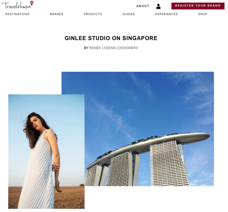 TRAVELSHOPA: GINLEE Studio on Singapore