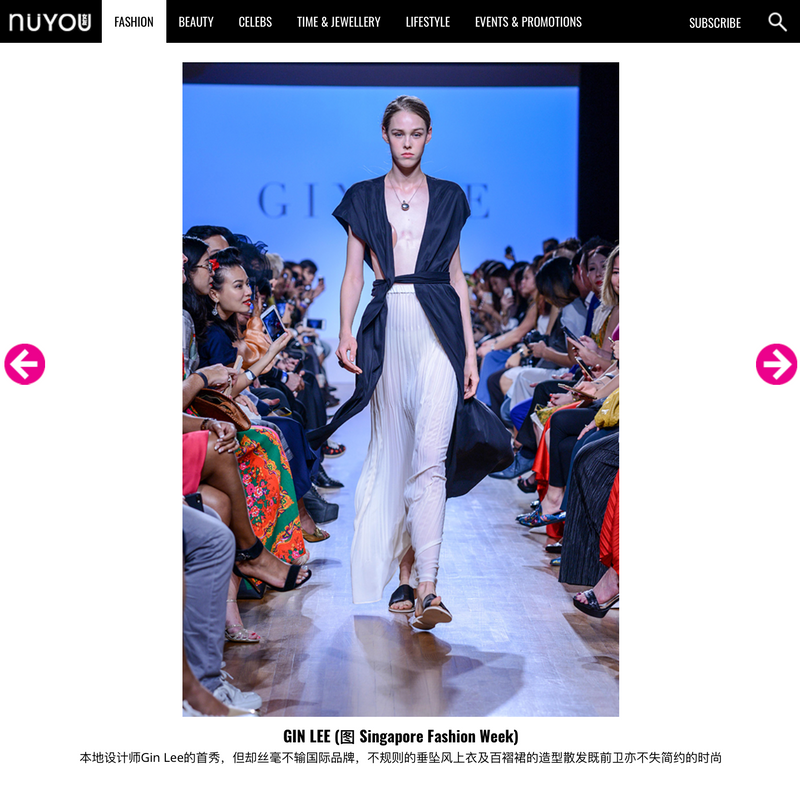 NÜYOU: NÜYOU STYLIST DONSON PICKS HIS TOP 10 FAVOURITE LOOKS FROM SINGAPORE FASHION WEEK 2017 新加坡时装周2017精选造型