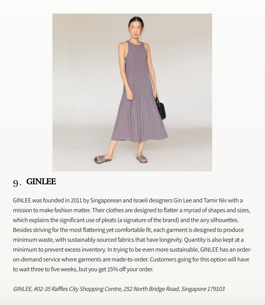 Prestige | Prestige picks: Singapore fashion labels we're proud of