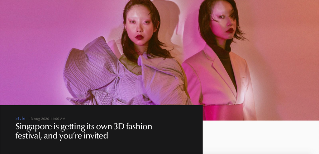 Lifestyle Asia | Singapore is getting its own 3D fashion festival, and you're invited