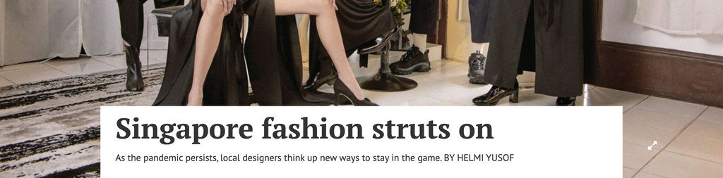 Business Times | Singapore fashion struts on