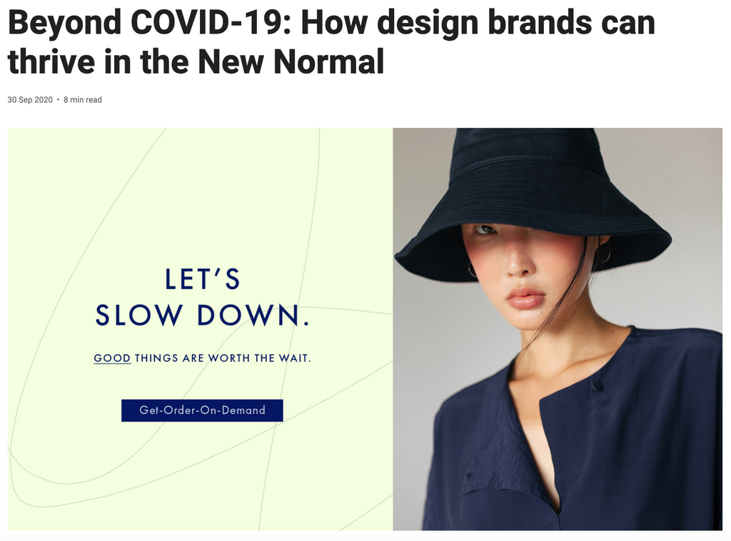 Design Singapore | Beyond COVID-19: How design brands can thrive in the New Normal