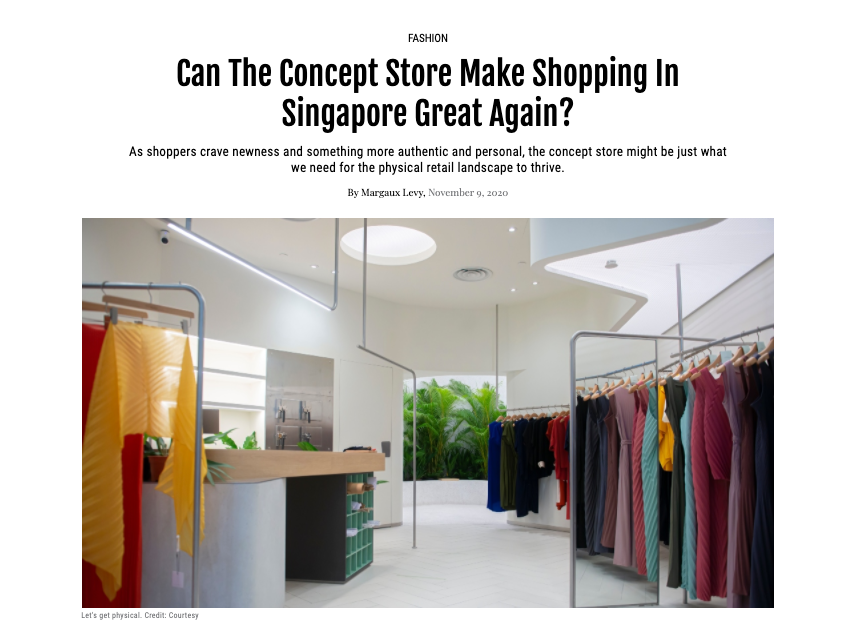 FEMALE | Can The Concept Store Make Shopping In Singapore Great Again?