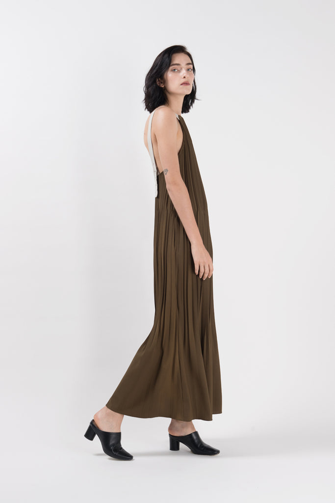 KIYONA PLEATED DRESS SS19