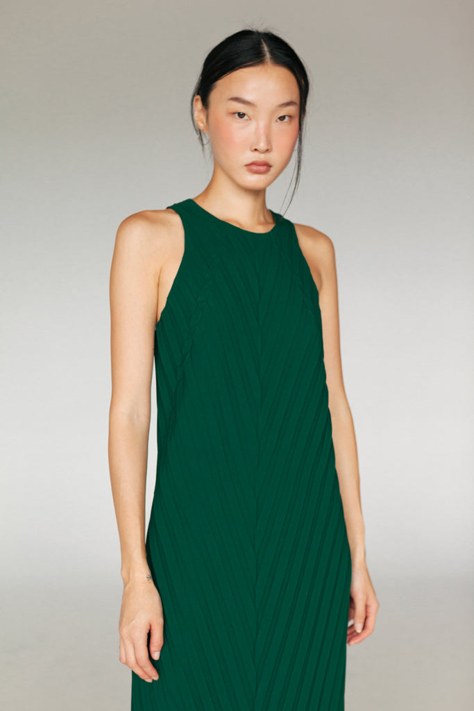 IVY PLEATED DRESS SS20