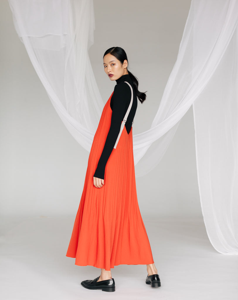 KIYONA PLEATED DRESS AW19