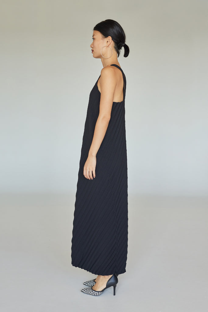 IVY PLEATED DRESS SS21