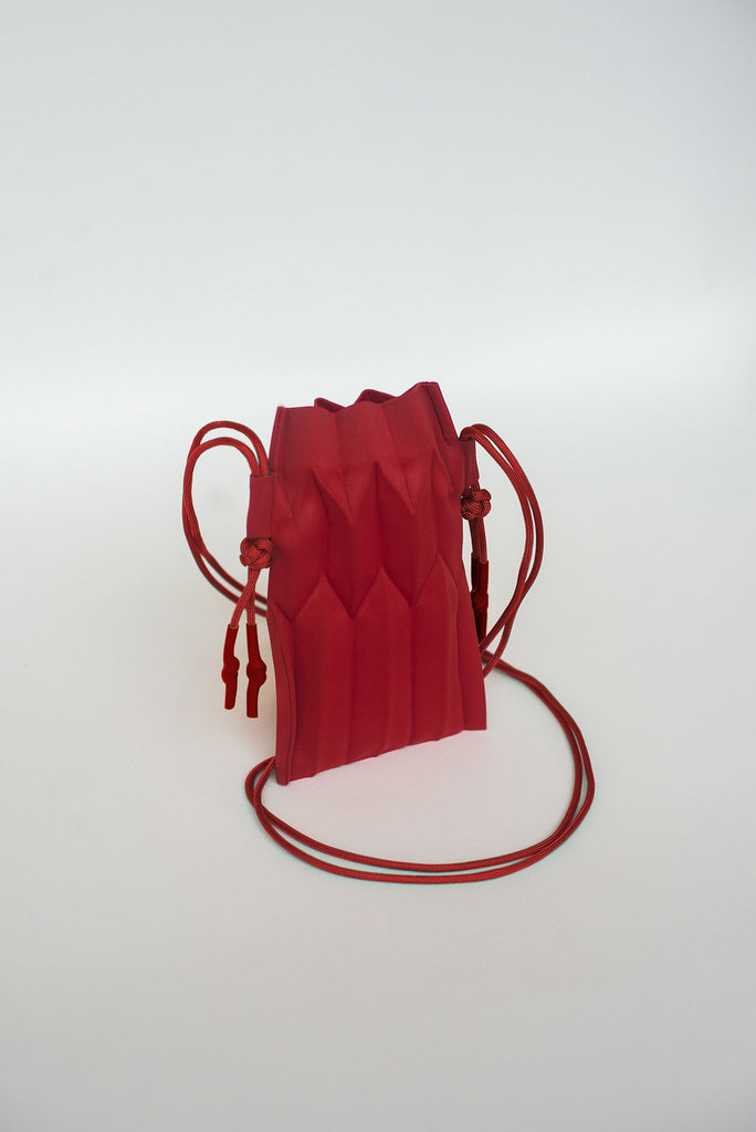 Limited Edition MAKE BAG (SMALL) in Red