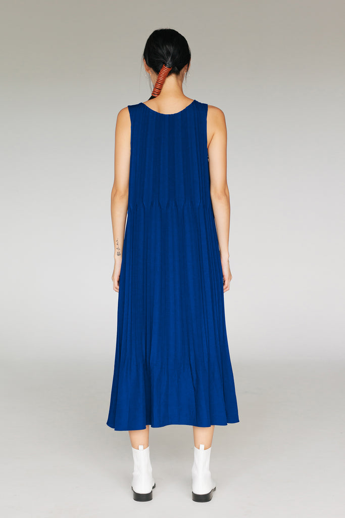 DUNE PLEATED DRESS