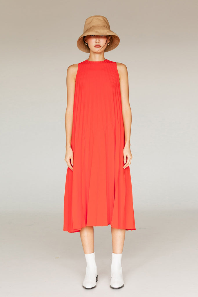 HOPE PLEATED DRESS SS20