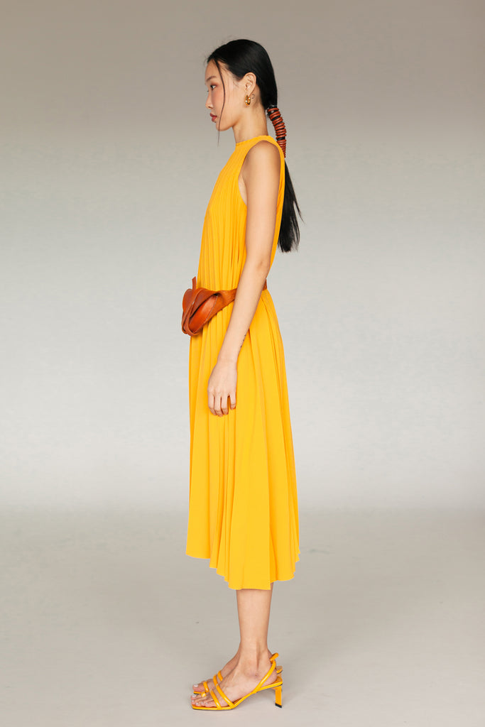 HOPE PLEATED DRESS