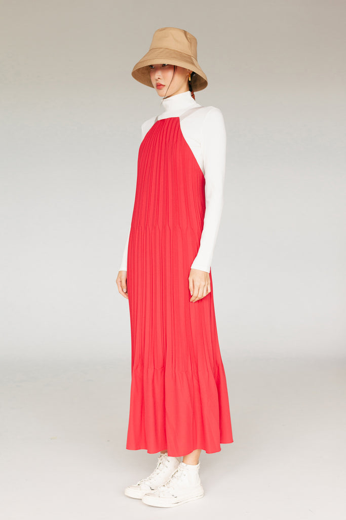 KIYONA PLEATED DRESS SS20