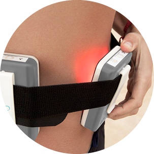 Attach PureLight system to any body area