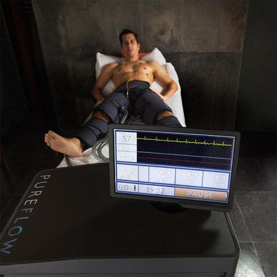 PureFlow Passive Cardio Exercise 5 - EKG driven technology. - TheRecoveryLab.com