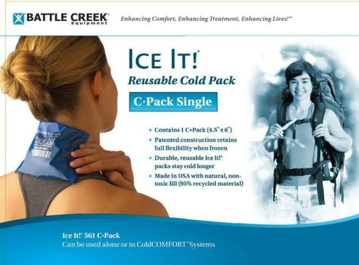 Battle Creek Cold Therapy Battle Creek IceIt! Cold Pack (Double Pack Model 560)