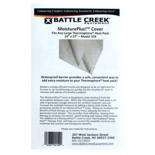 "Battle Creek Heat Therapy 14"" X 27"" Thermophore Moisture Plus Cover"
