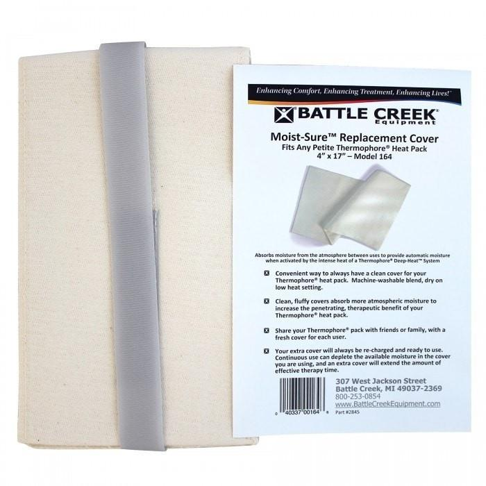 "Battle Creek Heat Therapy 4"" X 17"" Thermophore Moist-Sure Fleece Cover"