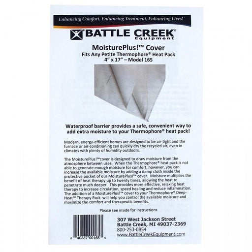 "Battle Creek Heat Therapy 4"" X 17"" Thermophore Moisture Plus Cover"