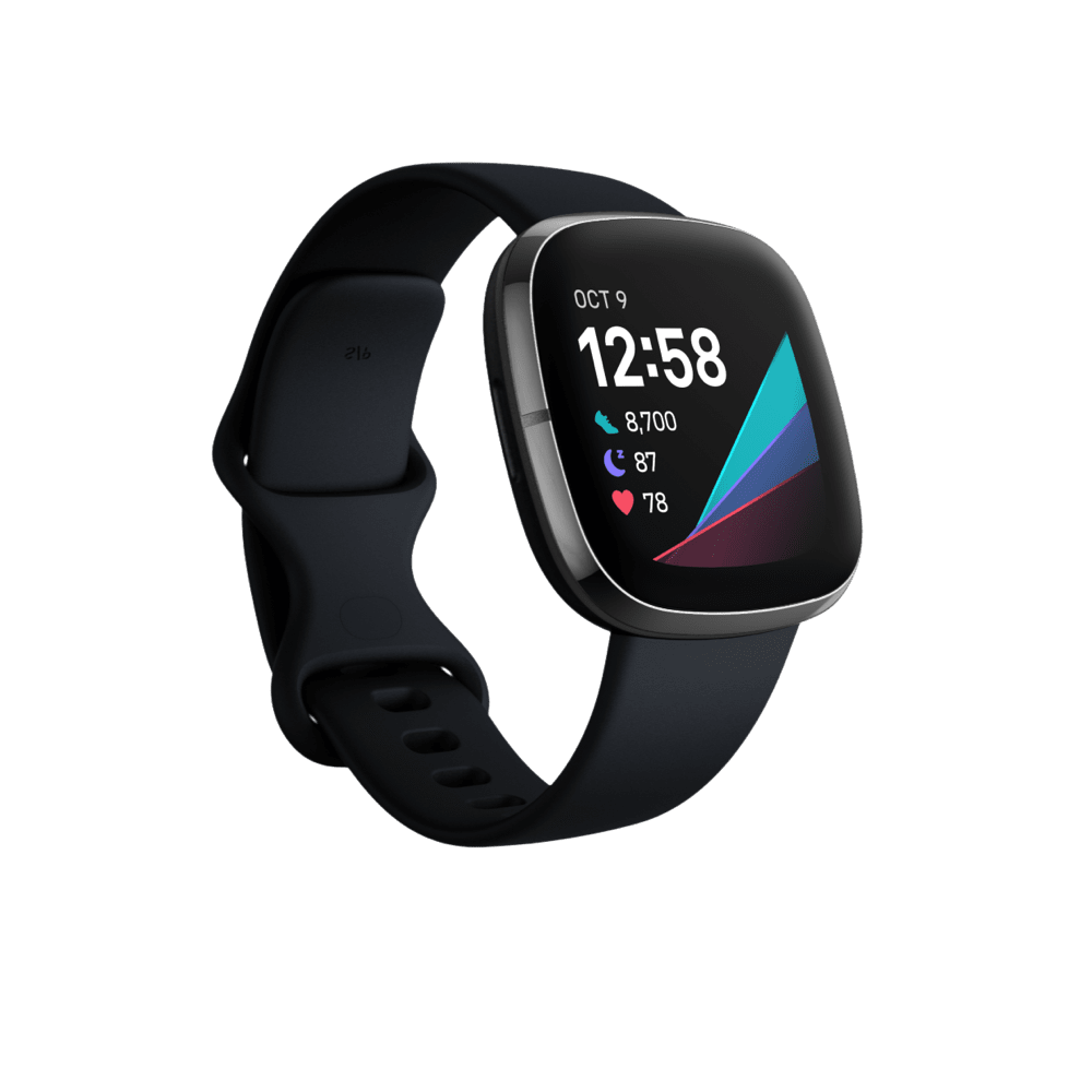 Fitbit Activity Monitors Fitbit Sense Advanced Health Smartwatch