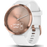 "Garmin Activity Monitors Rose Gold / Small/Medium (4.8""-7.44"") Garmin Vivomove HR Hybrid Smart Watch"