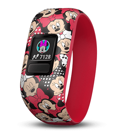 Garmin Garmin Accessories 4-7 / Minnie Mouse Garmin Vivofit Jr 2 Replacement Bands