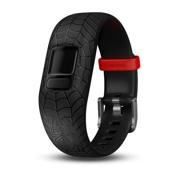 Garmin Garmin Accessories 6+ / Spider-Man Black Garmin Vivofit Jr 2 Replacement Bands