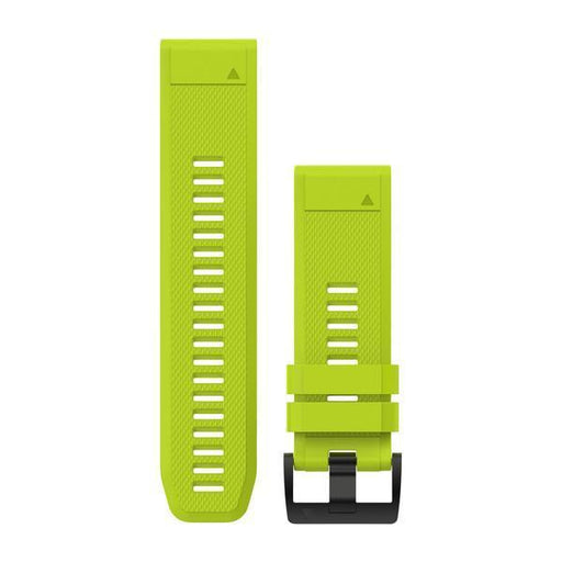 Garmin Garmin Accessories Amp Yellow Silicone Garmin QuickFit 26 mm Watch Bands