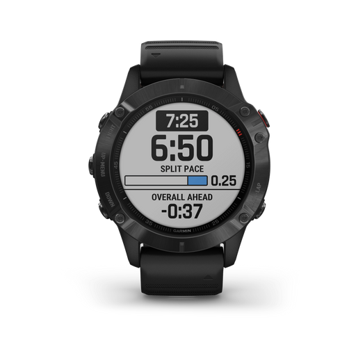 Garmin Multi-Sport Watch Black with Black Band / Pro Garmin fēnix 6 Pro and fēnix 6 Sapphire