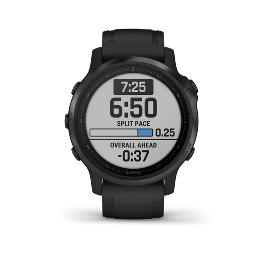 Garmin Multi-Sport Watch Black with Black Band / Pro Garmin fēnix 6S Pro and fēnix 6S Sapphire