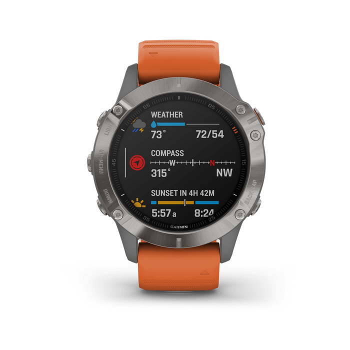 Garmin Multi-Sport Watch Garmin fēnix 6 Pro and fēnix 6 Sapphire