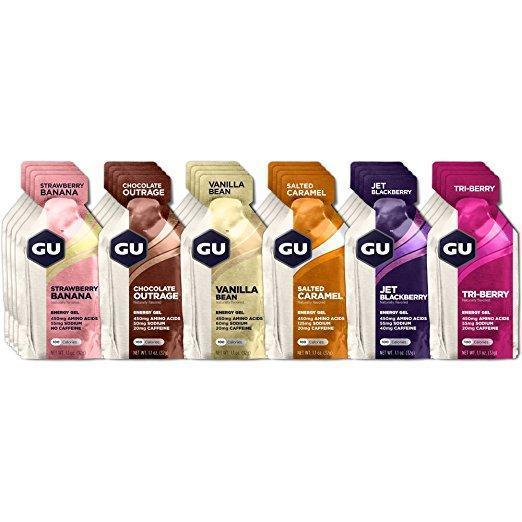 GU Sports Nutrition 24 Count Box / Original Mix GU Original Sports Nutrition Energy Gel - Various Flavors