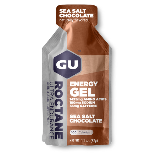GU Sports Nutrition 24 Pack / Sea Salt Chocolate GU Roctane Ultra Endurance Energy Gel