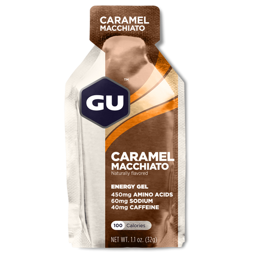 GU Sports Nutrition Caramel Macchiato / 24 Count Box GU Original Sports Nutrition Energy Gel - Various Flavors