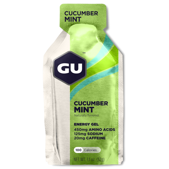 GU Sports Nutrition Cucumber Mint / Single Pack GU Original Sports Nutrition Energy Gel - Various Flavors