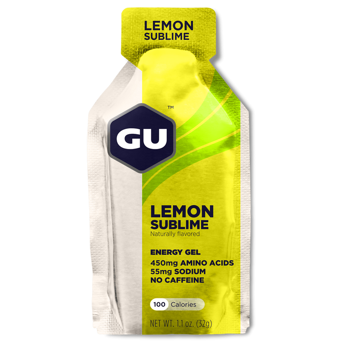 GU Sports Nutrition Lemon Sublime / 24 Count Box GU Original Sports Nutrition Energy Gel - Various Flavors