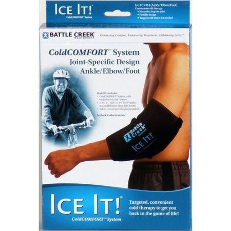 Ice It Cold Therapy Ice it! ColdCOMFORT (model 514) Ankle, Elbow Foot