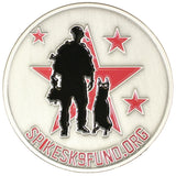 Spike's K9 Fund Challenge Coin *Limited Run*