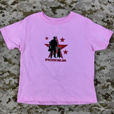 Spike's K9 Fund Original Logo Kids Shirt - Girls