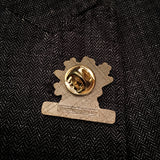 Spike's K9 Fund Logo Pin