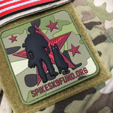 Spike's K9 Fund PVC Patch - Multicam