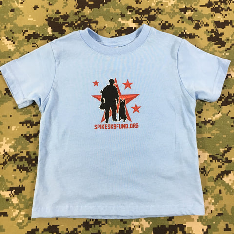 Spike's K9 Fund Original Logo Kids Shirt - Boys