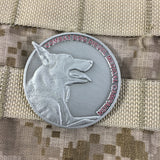 Combat Dog Diesel Medical Campaign Challenge Coin