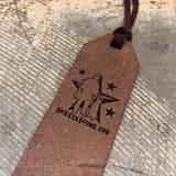 Spike's K9 Fund Leather Bookmark
